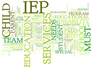 IEP in the classroom