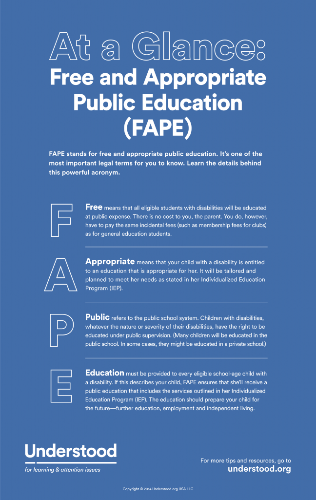 Does the IEP Provide Free Appropriate Public Education (FAPE)?